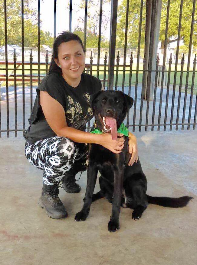 Charlene and Duson 2018 Service Dog Grauates